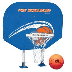 Rebounder Pool Basketball Hoop