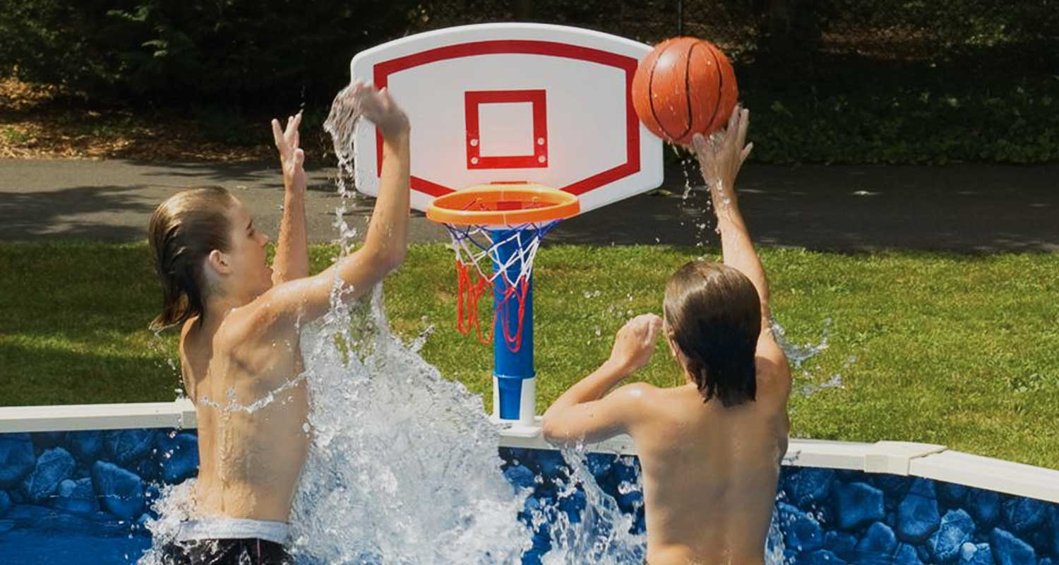 Swimming Pool Basketball Hoops
