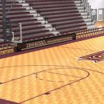 College Basketball Court
