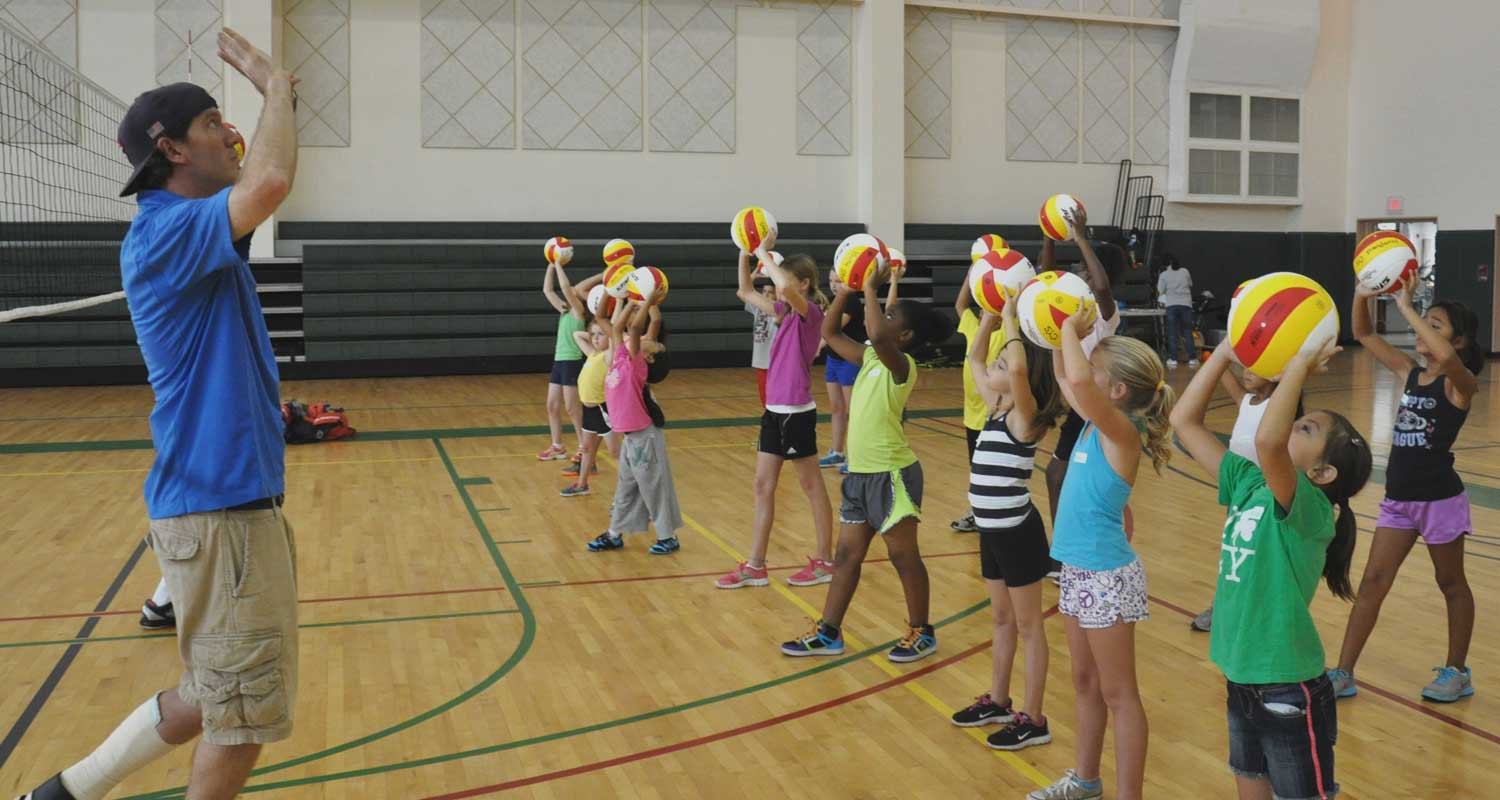 best Volleyball Drills for Kids