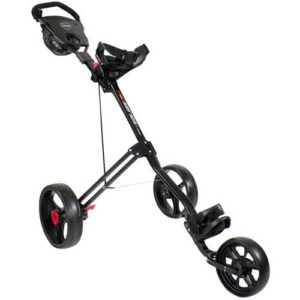 Masters 5 Series 3 Wheel Push Trolley Black