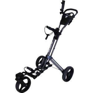 Qwik-Fold 360 Swivel 3 Wheel Push Golf Cart